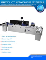 product attaching system