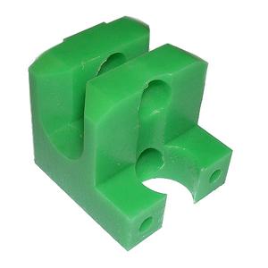 B1-005 Green envelope jaw guide blocks