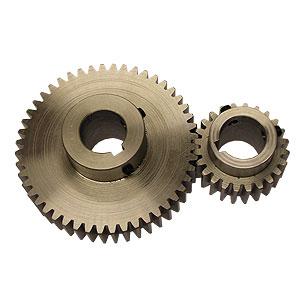 B1-014b Pair of large main drive gears (2x30mm i/d bore)