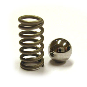 B2-010 Steel ball & spring for feeder engagement handle